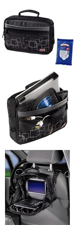 Сумка для портативного DVD плеера, черный/серый, НАМА - МАКТЕК.