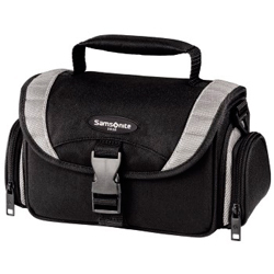 Фотосумка Hama Samsonite Safaga 120 Duo, черный/серый.